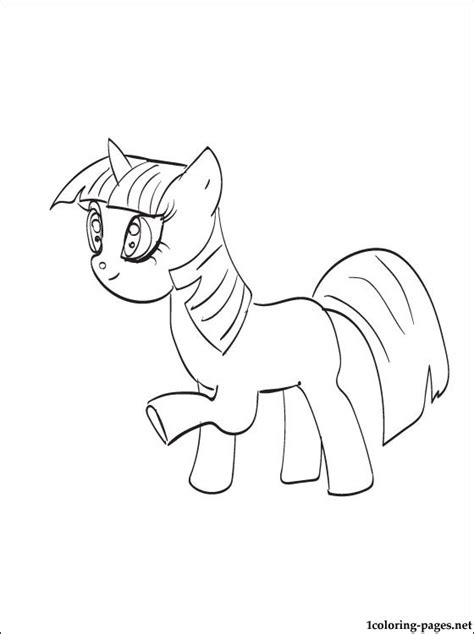 twilight mlp fim coloring pages pictures to pin on
