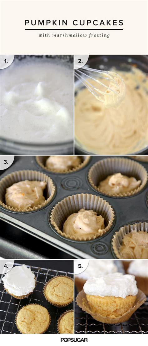 light pumpkin dessert recipes light pumpkin cupcake recipe popsugar food