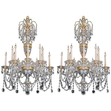 Styles Of Chandeliers Pair Of 20th Century Chandeliers In The Style Of Perry And Co For Sale At 1stdibs