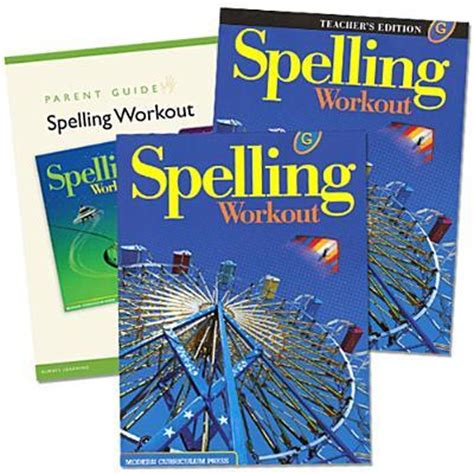 burning workouts book bundle books spelling workout homeschool bundle level g modern