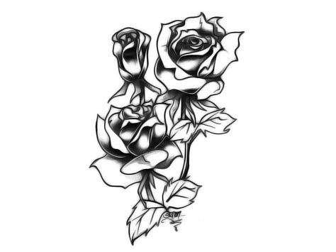 black and white rose tattoos tumblr drawing at getdrawings free for