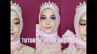 tutorial jilbab lula kamal download video 4 style simple hijab organza square by