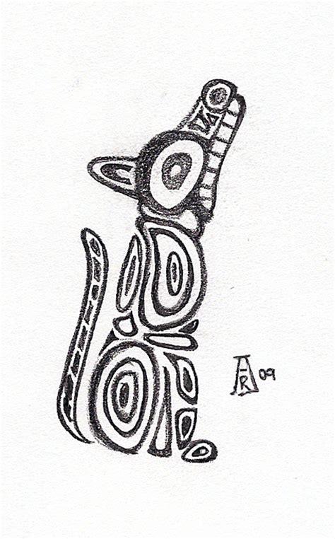 totem wolf by runeelf on deviantart