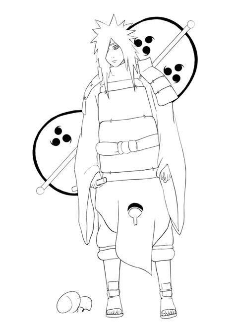 coloriage personnage naruto 224 imprimer sur coloriages info
