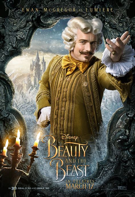 beauty and the beast beauty and the beast 2017 poster 2 trailer addict