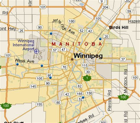 where is winnipeg on the map of canada maps of winnipeg