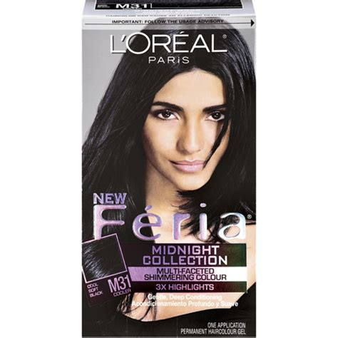 is feria good dye for grey l oreal paris feria haircolor cool soft black 31 hair