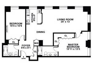 apartment floor plans 2 bedroom 99 john street rentals deco lofts apartments for rent in financial district