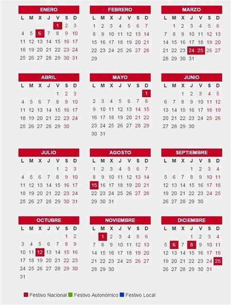 cuanto vale un dia laboral 2016 colombia calendario laboral 2016 festivos nacionales locales