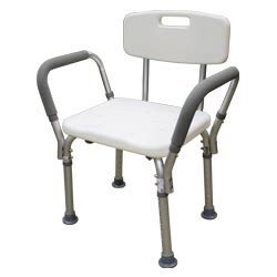 roscoe shower chair with back and handles roscoe shower chair with back and handles