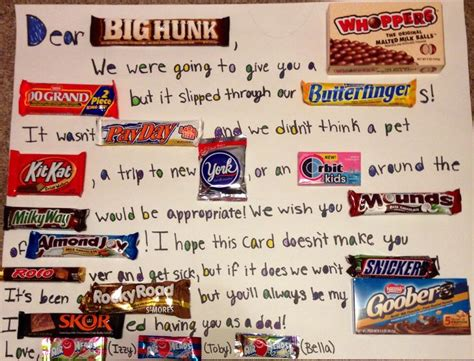 Candy Gift Card - pinterest discover and save creative ideas