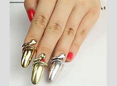 13 Amazing Nail Jewelry Designs Unique Nail Designs Pinterest