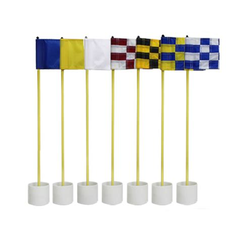 backyard golf set crestgolf 1set per pack backyard golf practice set golf hole pole cup flag stick