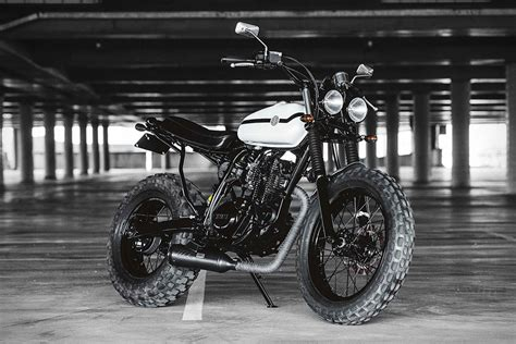 Rompi Deus Ex Machina 2 1 deus ex machina two up yamaha motorcycle uncrate