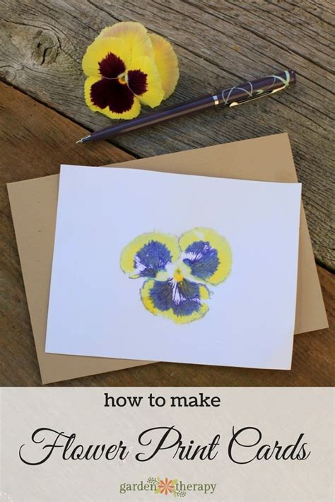 Diy Pansy Card Template by Creative Gift Giving With Diy Pansy Crafts Garden