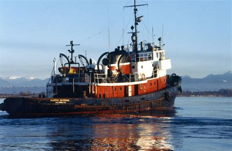 tug boats for sale vancouver calumet shipyard ocean going tug 1944 used boat for sale