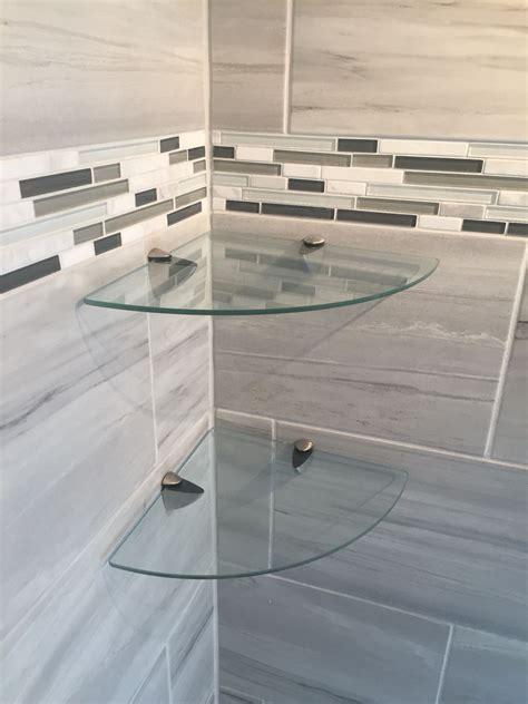 bathroom glass corner shelves bathroom shower glass corner shelves http www