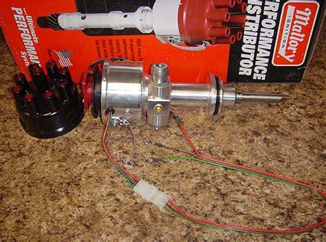 ballast resistor tachometer mallory tach drive distributor