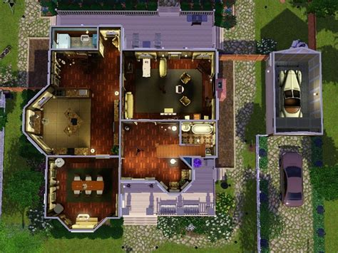 Sims 3 4 Bedroom House Design by Mod The Sims Verity A Victorian Styled House