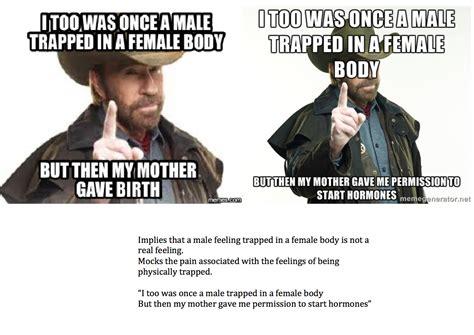 Transvestite Meme - image gallery transgender meme