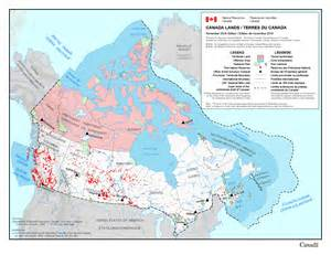 resources map of canada about canada lands resources canada