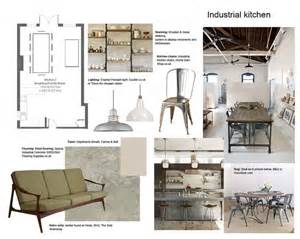 Interior Design Board by Industrial With Style Interior Design Mood Boards