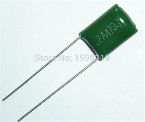 Capacitor Mylar 473 J 47n 0 047uf 400v Ecqf Panasonic Kapasitor get cheap polyester capacitor aliexpress
