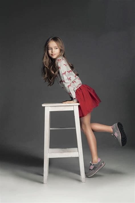 little girl modeling provocatively newbalance for little girls kristina pimenova kids