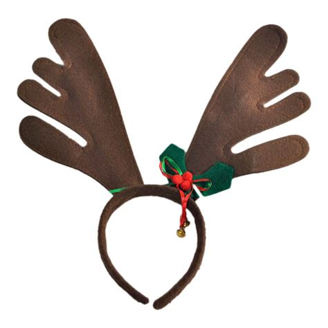 jacobson bells and holly reindeer antler hat novelty hats