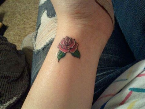 rose tattoos on girls 52 wrist tattoos