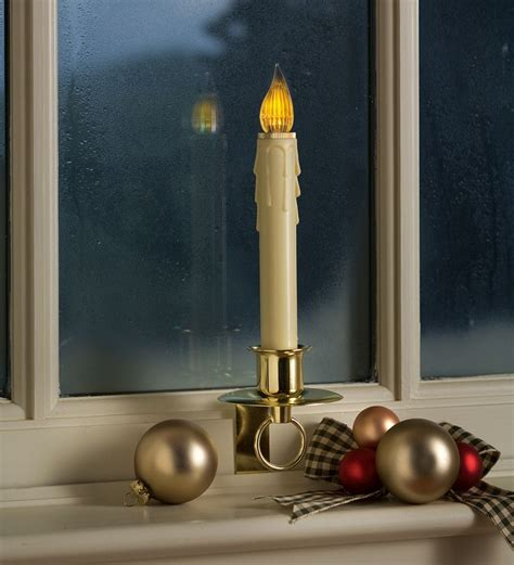 Electric Candles For Windows Decor Electric Candles For Windows Decor Vintage Electric Window Candles Light Up Kitsch 5 Light