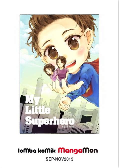 film anime bikin nangis review manga my little superhero kisah keluarga yang