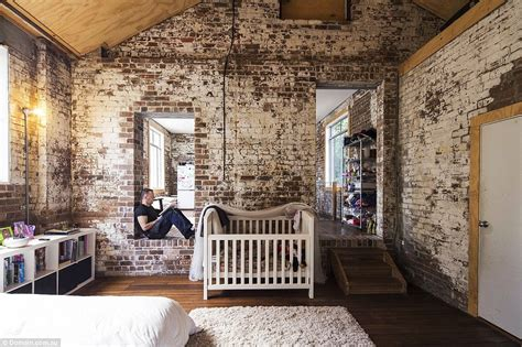 Bedroom Ceiling Light Ideas hipster warehouse conversion in sydney sells for 3
