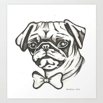 frankie the pug 27 best images about horror drawings on print