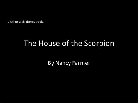house of scorpion pdf the house of the scorpion evaluation