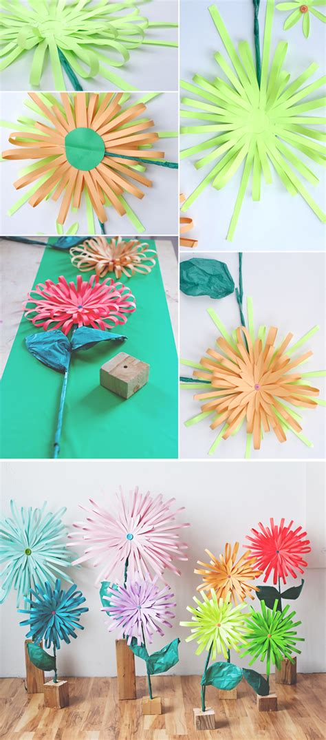 How To Make A Flower In Paper - how to make a paper flower a subtle revelry