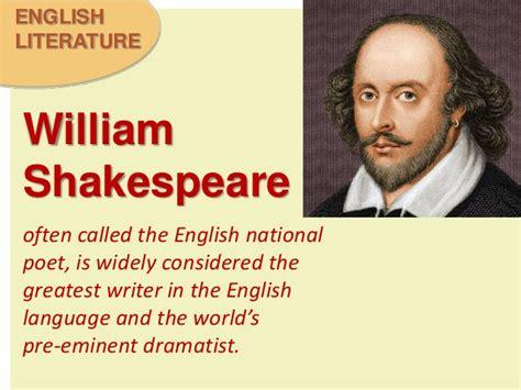 biography of english writer william shakespeare shakespeare