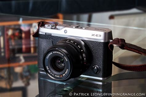 Fujifilm X E3 Black Kamera Mirrorless Kamera Fuji Limited fuji x news fujifilm x e3 mirrorless review