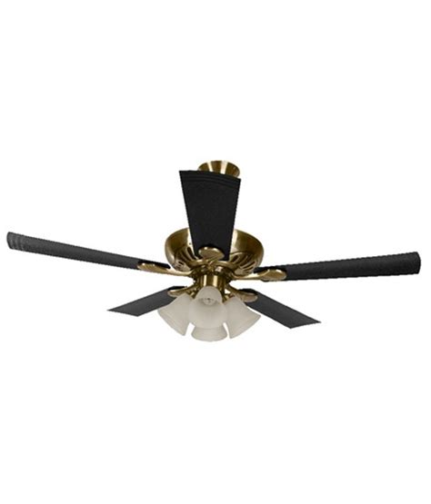 Usha 1250 Mm Fontana Maple Ceiling Fan Antique Brass Price Price To Install Ceiling Fan