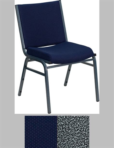blue patterned upholstered chairs hercules series heavy duty 3 thickly padded navy blue