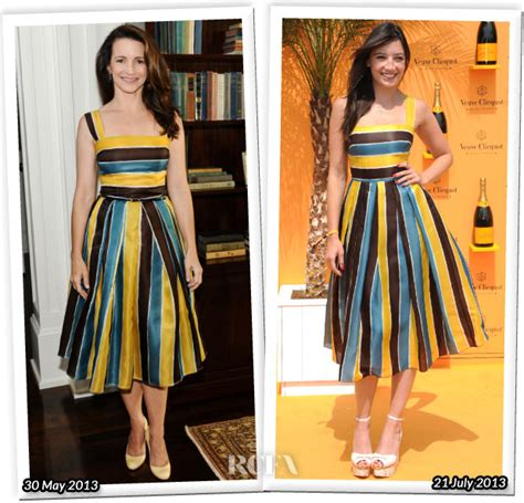 Who Wore Dolce Gabbana Better Carpet Style Awards 2 by Who Wore Dolce Gabbana Better Kristin Davis Or