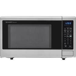 sharp carousel 1 8 cu ft 1100w countertop microwave oven