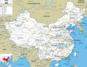 detailed map detailed clear large road map of china ezilon maps