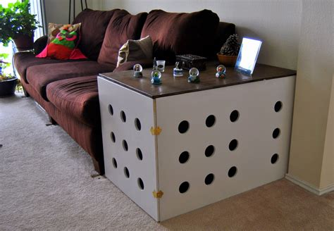dog crate end table diy ana white diy dog crate end table diy projects