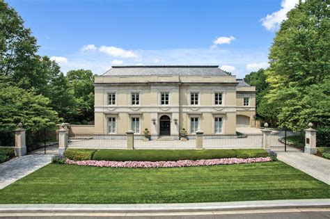 neo classical homes fessenden house a neo classical washington dc residence