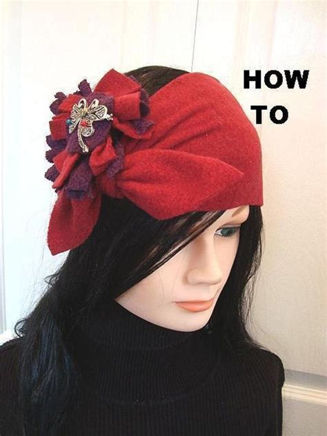 pattern for fleece headbands 1000 images about hats on pinterest sewing patterns