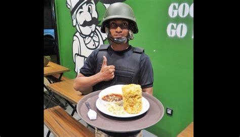 Setelan Pdl Loreng sensasi barak tentara kuliner bandung travel tempo co