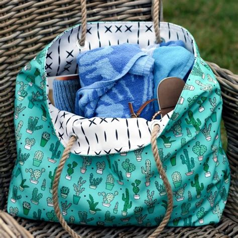 tote bag pattern martha stewart how to make a rope handled bag to tote around all summer