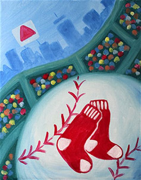 paint nite boston pictures sox tickets paint nite redsox tickets