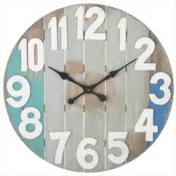 Slatted wood wall clock decorative clocks clocks